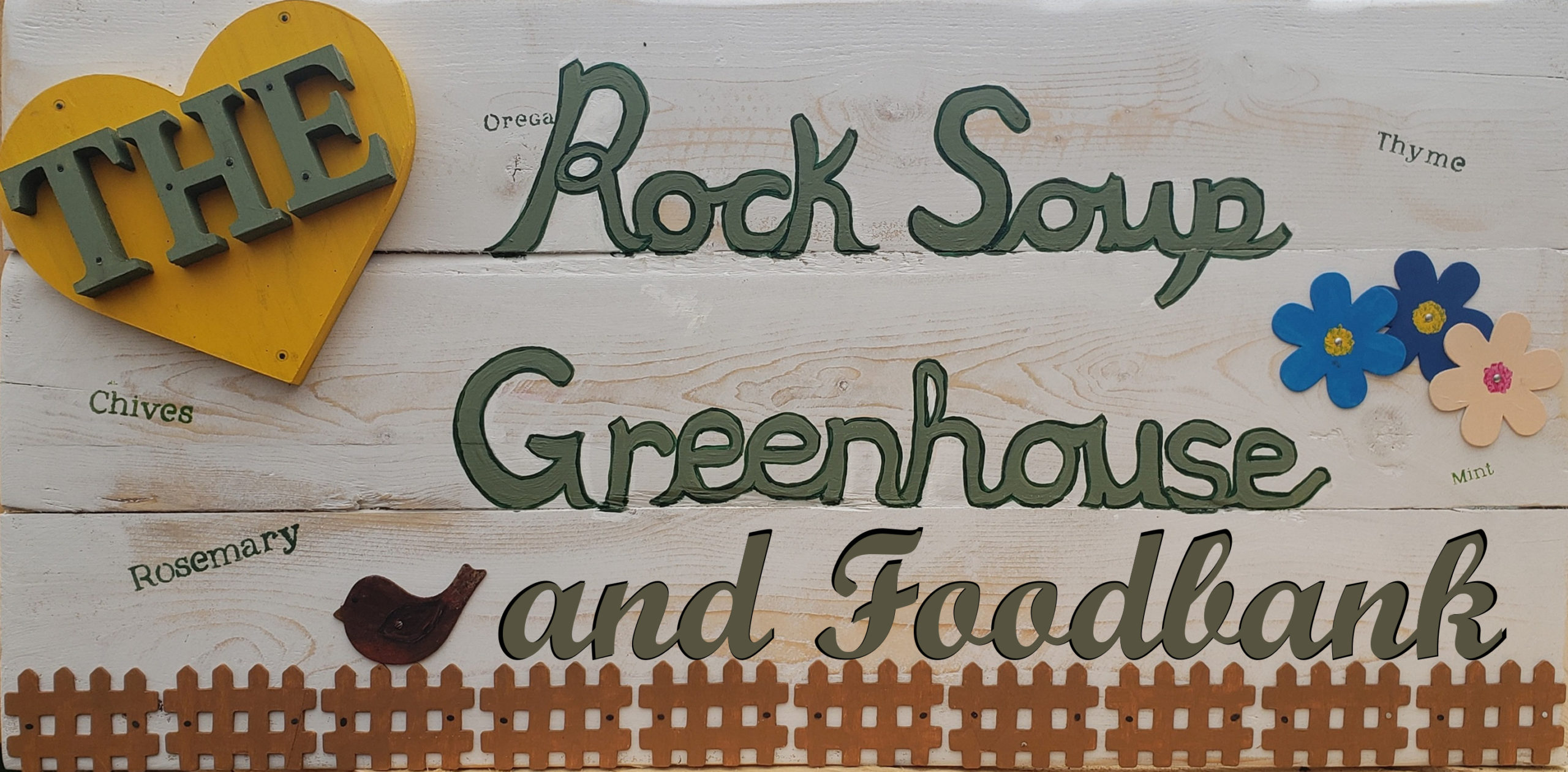 Rock Soup Green House and Food Bank Logo